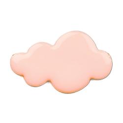 Broche Nuage Rose Saumon - Bijoux Emmanuelle Biennassis - Boutique Les Inutiles
