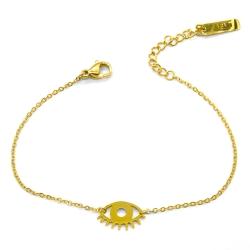 Bracelet Twiggy Or • Bijoux Oeil Doré • Collection mystique et tendance bohème • Boutique Les inutiles • eshop créateurs