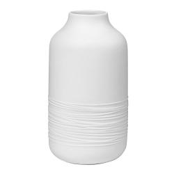 Vase ficelle en porcelaine blanche mate par Räder - Les inutiles