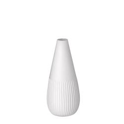 Vase Figue en porcelaine blanche mate par Räder - Les inutiles