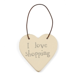 Mini Coeur I love Shopping