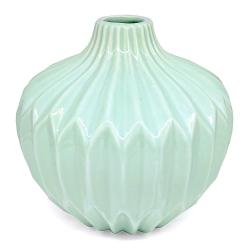 Vase boule origami mint bloomingville - les inutiles