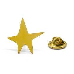 Pin's Étoile - Star Lapel Pin Gplden Titlee - Boutique Les inutiles