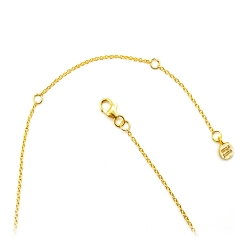 Collier argent plaqué or serti labradorite carrée - chaîne dorée et pierre fine carré - muja juma - les inutiles