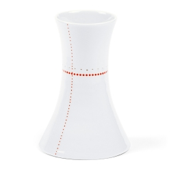 Soliflore en porcelaine - Vase rouge de la collection Hay d'Anne Black. Boutique Les inutiles