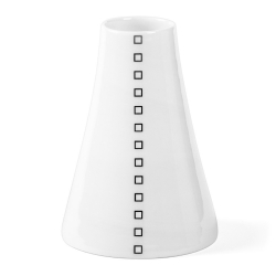 Soliflore en porcelaine - Vase noir et blanc de la collection Hay d'Anne Black. Boutique Les inutiles
