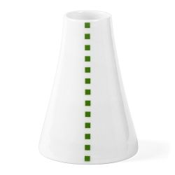 Soliflore en porcelaine - Vase vert et blanc de la collection Hay d'Anne Black. Boutique Les inutiles