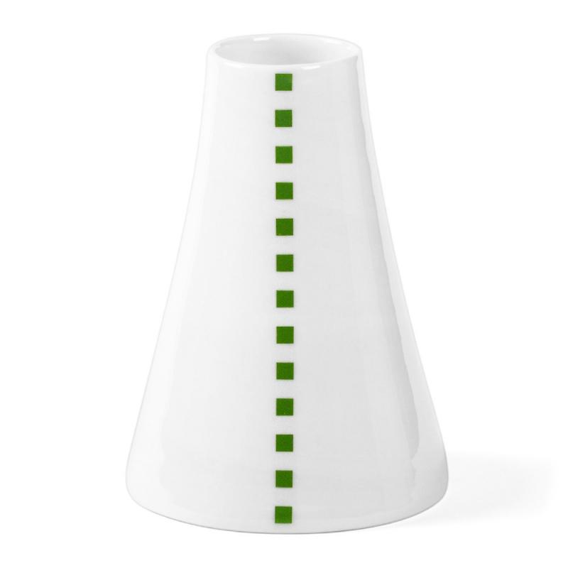 Soliflore en porcelaine - Vase vert et blanc de la collection Hay d'Anne Black. Boutique Les inutiles