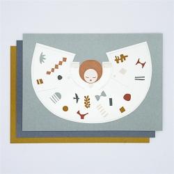 Fridur Mini Angel by Jurianne Matter - Déco de Noël Ange de la paix - Carte Postale Ange - Boutique Les inutiles