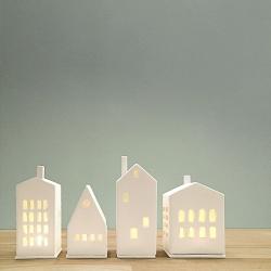 Photophore Maison en Porcelaine - Räder - Boutique Les inutiles