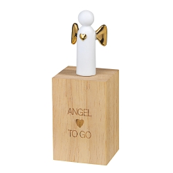 "Petit ""Ange à emporter"" en porcelaine - Angel To Go by Räder - Boutique Les inutiles"