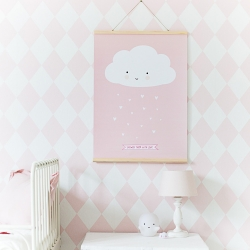 Regles en bois aimanté - accroche affiche - porte photo cadre en bois -boutique Les inutiles