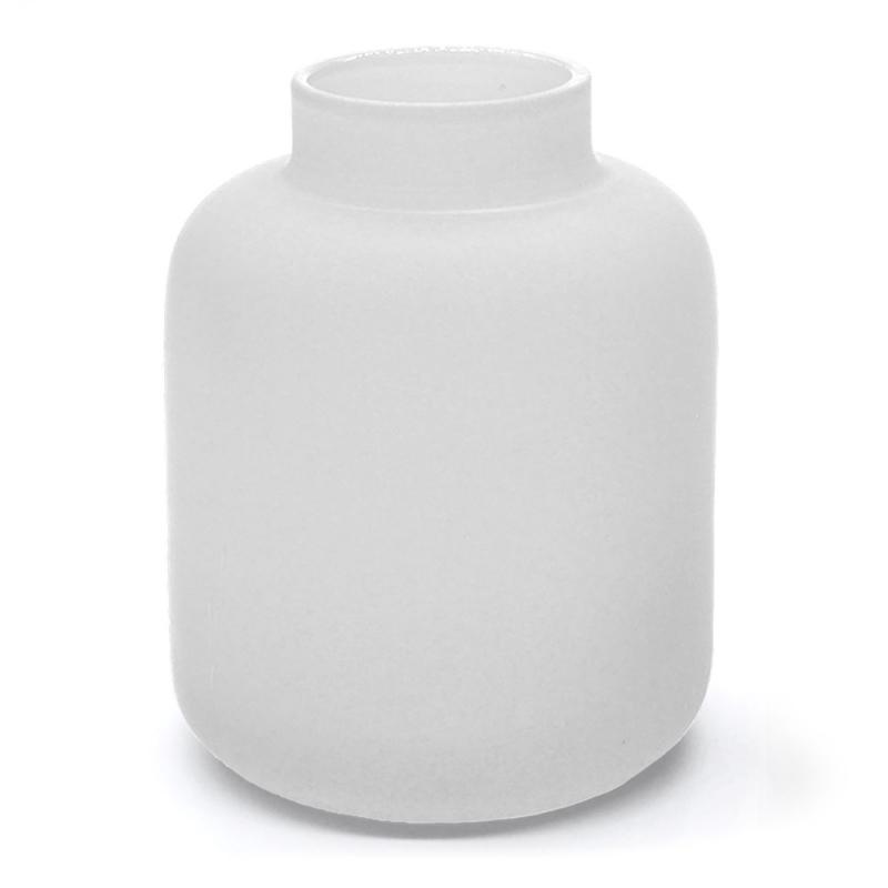 Vase Blanc - Soliflore Coming B - Boutique Les inutiles
