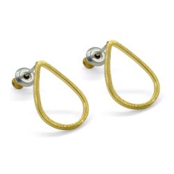 Boucles d'oreilles Gouttes d'eau - Attache Tiges Poucettes - Boutique Les inutiles