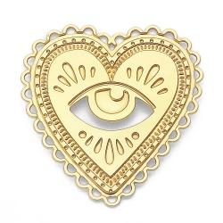 Pin's Milagro Marine Mistake • Broche Coeur sacré et oeil de la providence talisman • Boutique Les inutiles