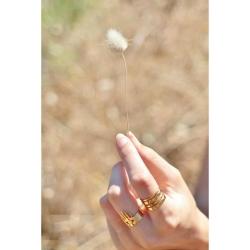 Bagues Marine Mistake • Collection Manojo • Bijoux Main protectrice et Oeil Divin • fleur de coton • Boutique Les inutiles