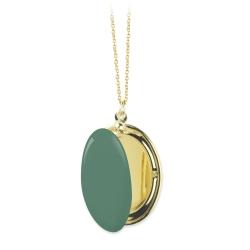 Collier boite, sautoir porte photo, médaillon or, bijoux photo • concept store Les inutiles