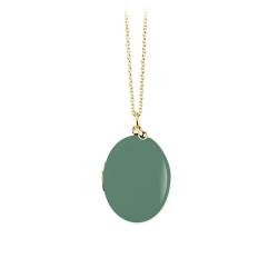 Médaillon de couleur vert sauge, pendentif photo boite, collier photo enfant et bébé, cadeau de mariage