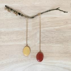Pendentif qui s'ouvre, collier boîte, médaillon photo personnalisé bijoux, cadeau saint valentin naissance enfant • Les inutiles