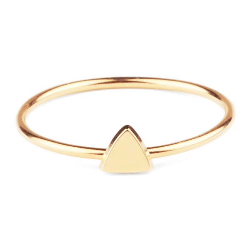 Bague Triangle en Vermeil - Fanchon en Mars