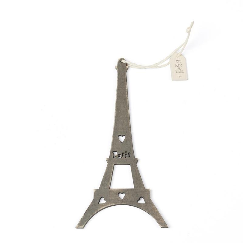 Tour Eiffel grise - Boutique Les inutiles