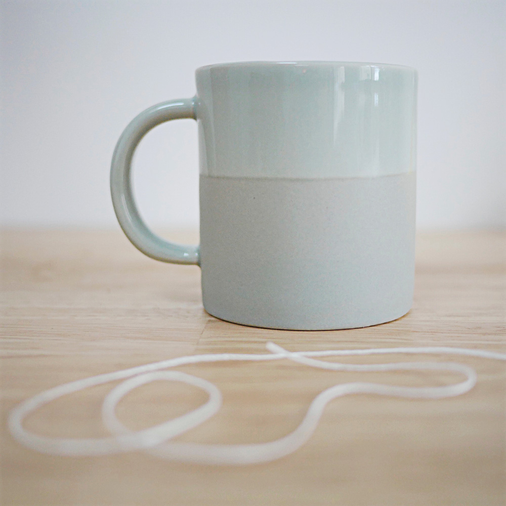 Mug  vert Sauge - Collection Bloomingville - Boutique Les inutiles